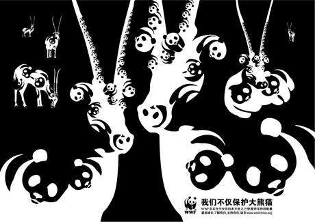 WWF Panda Antilope