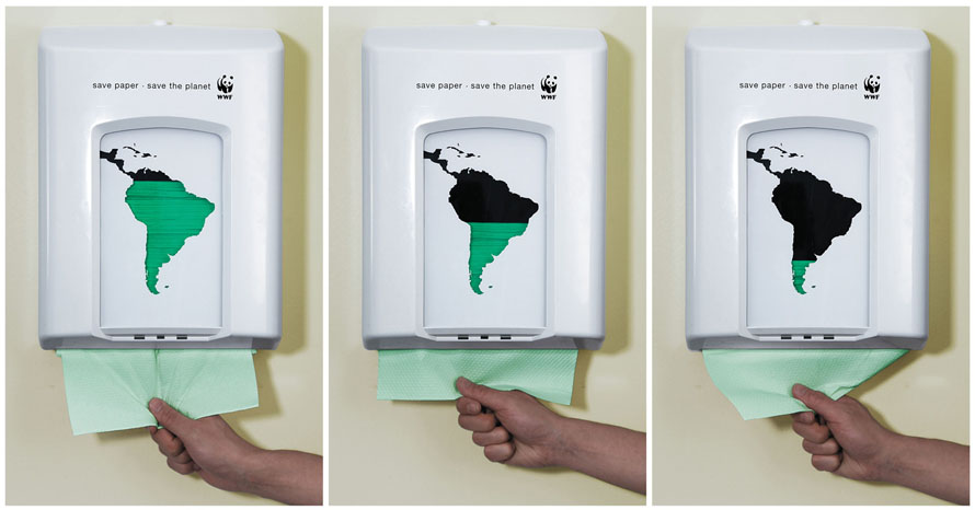 WWF Save Paper